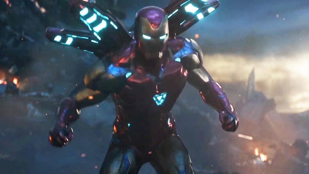 Robert Downey Jr, en el papel de Iron Man.