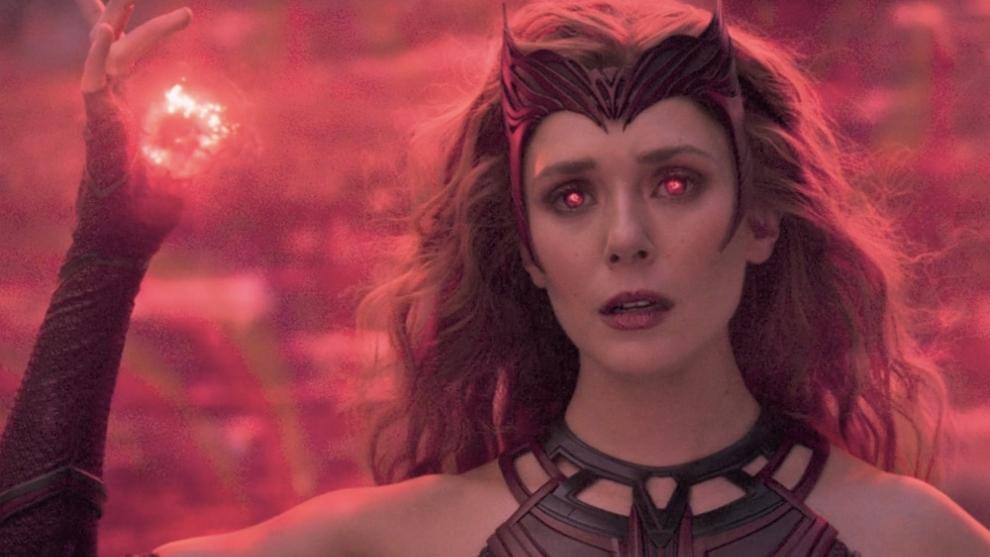Elizabeth Olsen, en el papel de Bruja Escarlata.