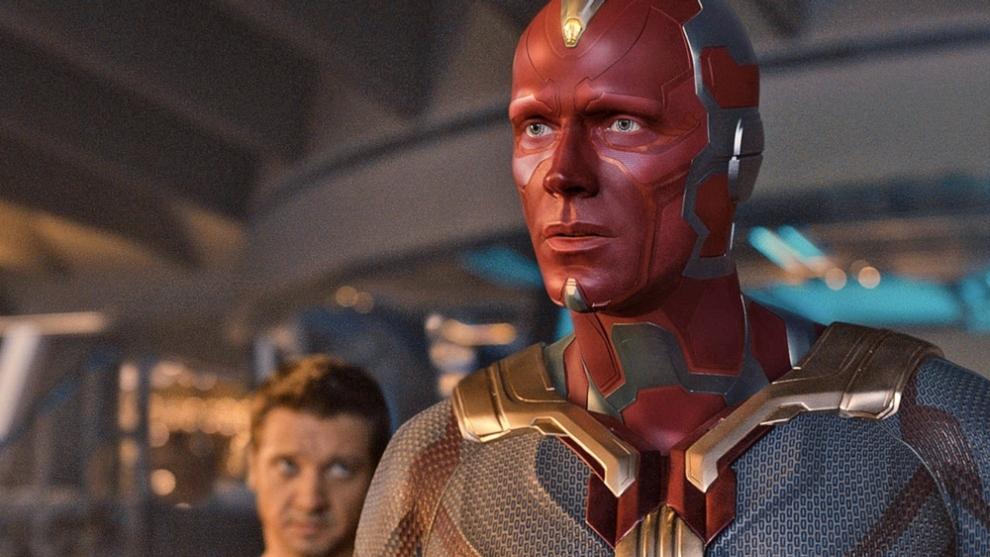 Paul Bettany, en el papel de Visión.