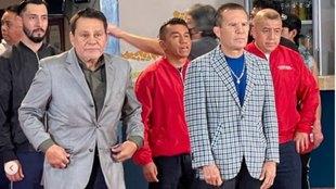 Manos de Piedra Durán y Chávez preparan proyecto juntos