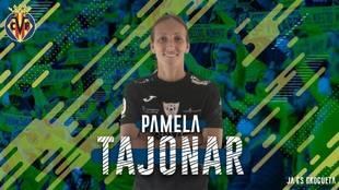 Pamela Tajonar, nueva jugadora del Villarreal
