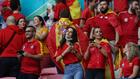 Los 9.000 españoles se dejaron oír en Wembley
