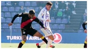 Valladolid-Rayo Vallecano en el José Zorrila.