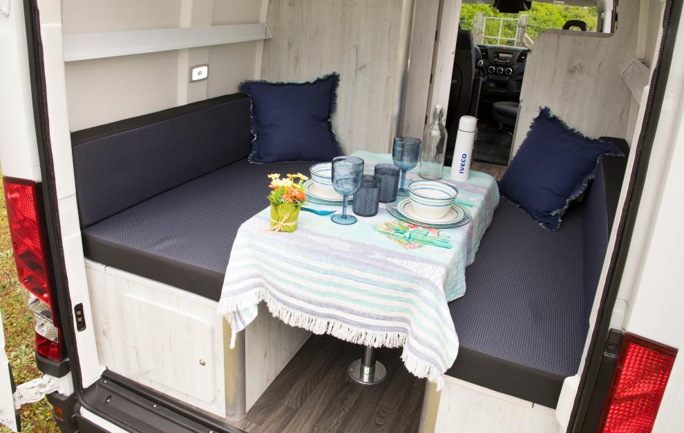 Iveco Daily Camper - Furgoneta camper - Autocaravana - Camping - Camas de matrimonio