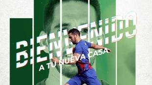 Pedro Bigas ya es nuevo jugador del Elche.