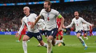 Harry Kane, tras marcar el segundo gol de Inglaterra