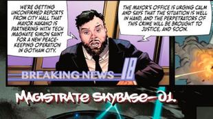 El dibujo de Jorge Jiménez de DC para el cómic de Batman donde sale...