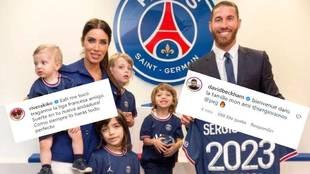 Las reacciones al fichaje de Ramos: Beckham, Pilar Rubio, Cristóbal Soria, Alejandro Sanz...