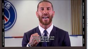 Solo lleva unas horas en París y Ramos ya se atreve con el francés: menuda pronunciación
