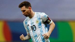 El no va más para Messi