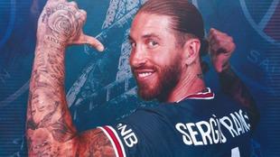 Sergio Ramos llega al PSG.