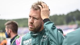Sebastian Vettel en el Gran Premio de Austria