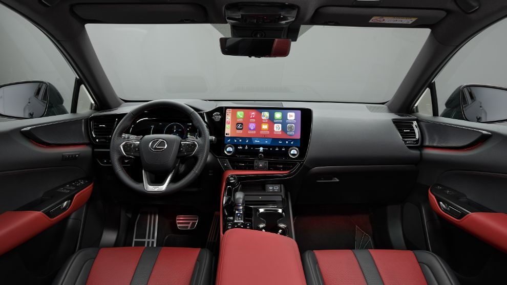 Lexus NX 2021- Lexus - NX 350h - NX 450h+ - hibrido - hibrido enchufable - SUV