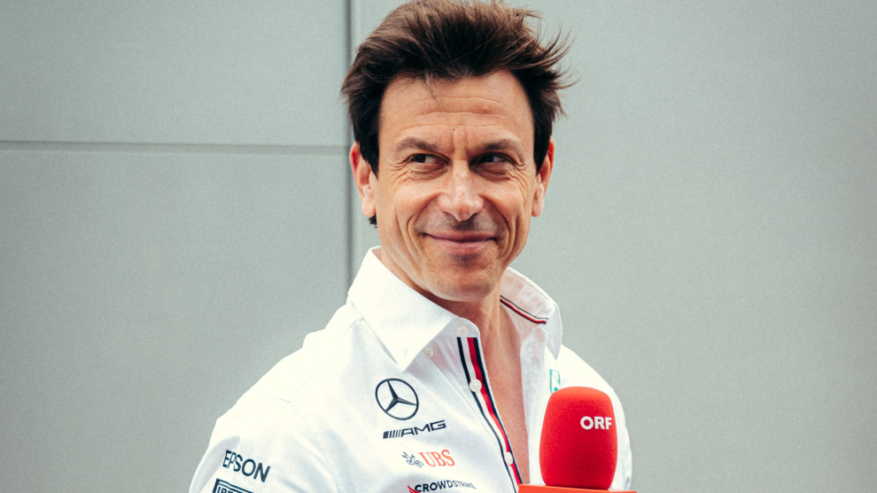 Toto Wolff, jefe del equipo alemán.