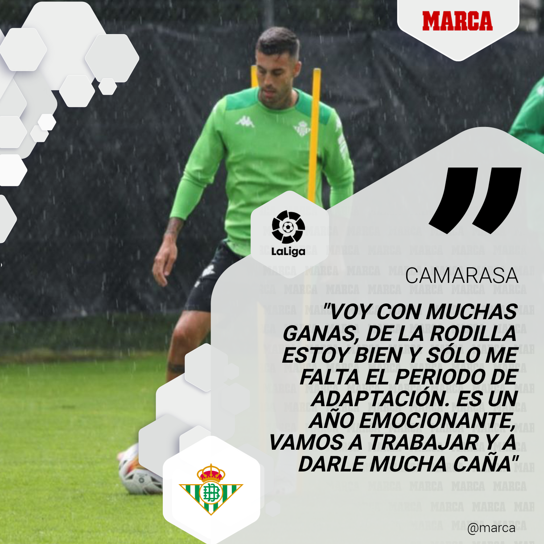Camarasa - Betis - Fútbol - LaLiga - Primera división - Pretemporada - Suiza - Bad Ragaz - Pellegrini - Joaquín - Fekir