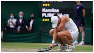 Barty Pliskova Wimbledon