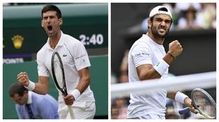 Final Wimbledon 2021 - Djokovic Berrettini - Horario - Donde ver