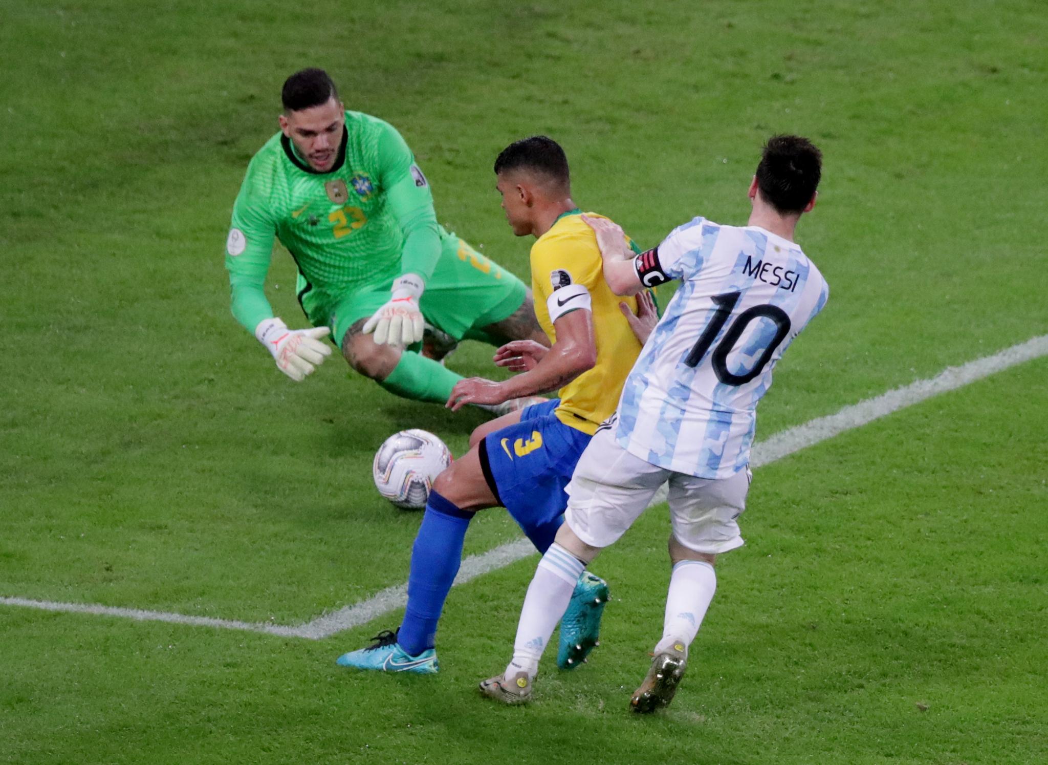 Argentina se está llevando el triunfo por la mínima