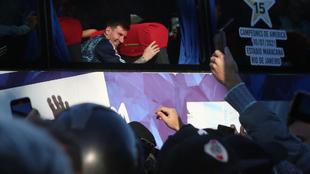 Lionel Messi fue el principal receptor del cariño de la afición a su...
