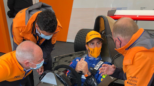 Ricciardo en el festival GoodWood