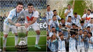 Acuña, su camiseta diferente, Messi y los festejos.