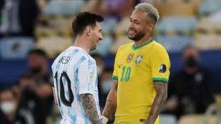 Messi y Neymar, amigos a pesar de disputar la Final de la Copa...