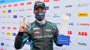 Sam Bird - Jaguar - Nueva York E-Prix - Fórmula E - líder - victoria