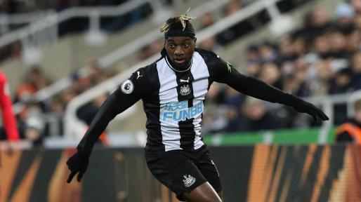 Saint-Maximin, jugador del Newcastle.