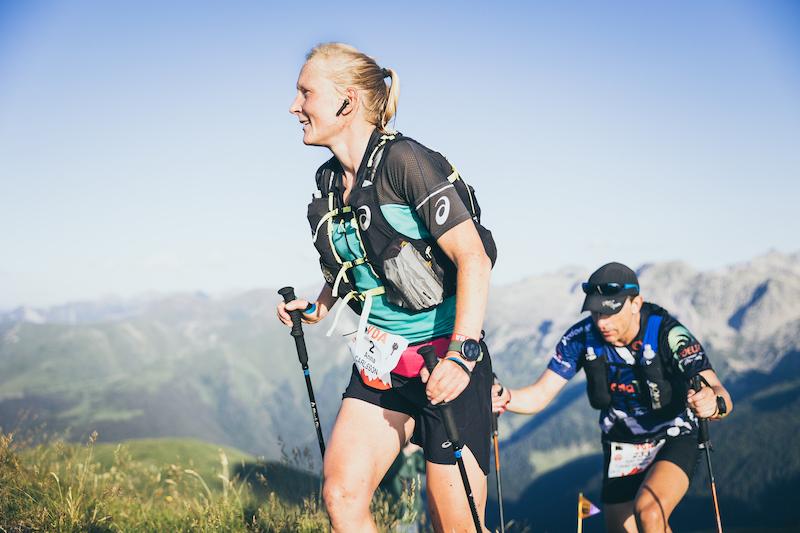 Anna Carlsson, ha dominado la VDA de principio a fin.