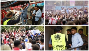 Caos en Wembley: ¡cientos de personas se cuelan en estampida sin entrada!