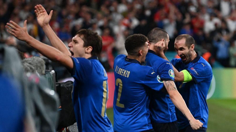 Los goles del triunfo de Italia narrados en Radio MARCA