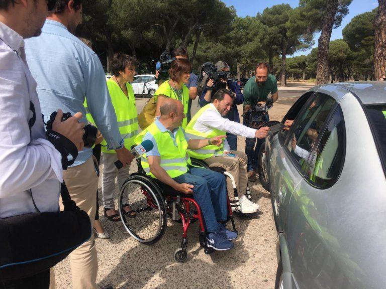ASPAYM  - Voluntarios - Lesion medular - Campaña especial de la DGT sobre exceso de velocidad