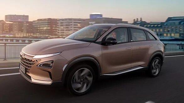El Hyundai Nexo, el primer SUV del mundo alimentado con hidrógeno.