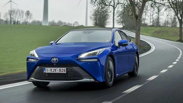 El Toyota Mirai de pila de combustible.