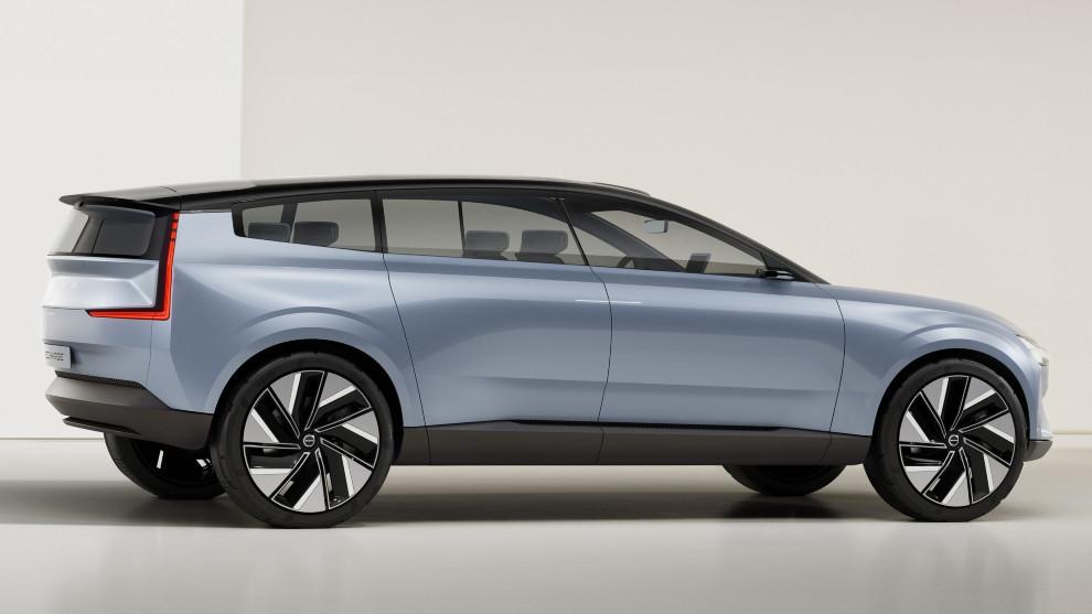 Volvo Concept Recharge, un todocamino con gran distancia entre ejes.