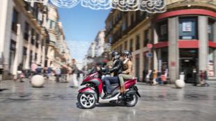 Scooter de tres ruedas - Malaga - Calle Larios