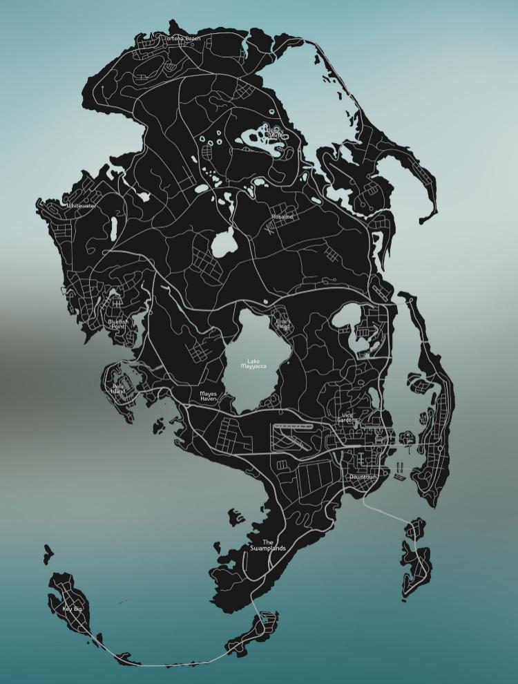 vice city mapa gta 6