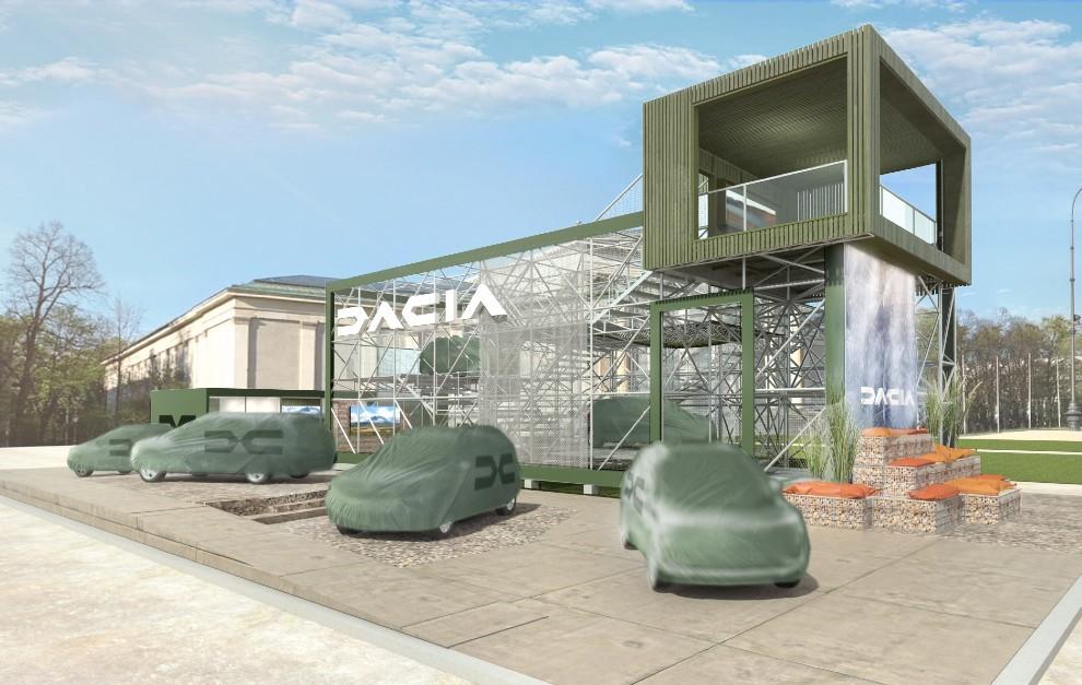 Dacia - Salon del automovil de Munich - Dacia Lodgy - Dacia de siete plazas - Dacia familiar