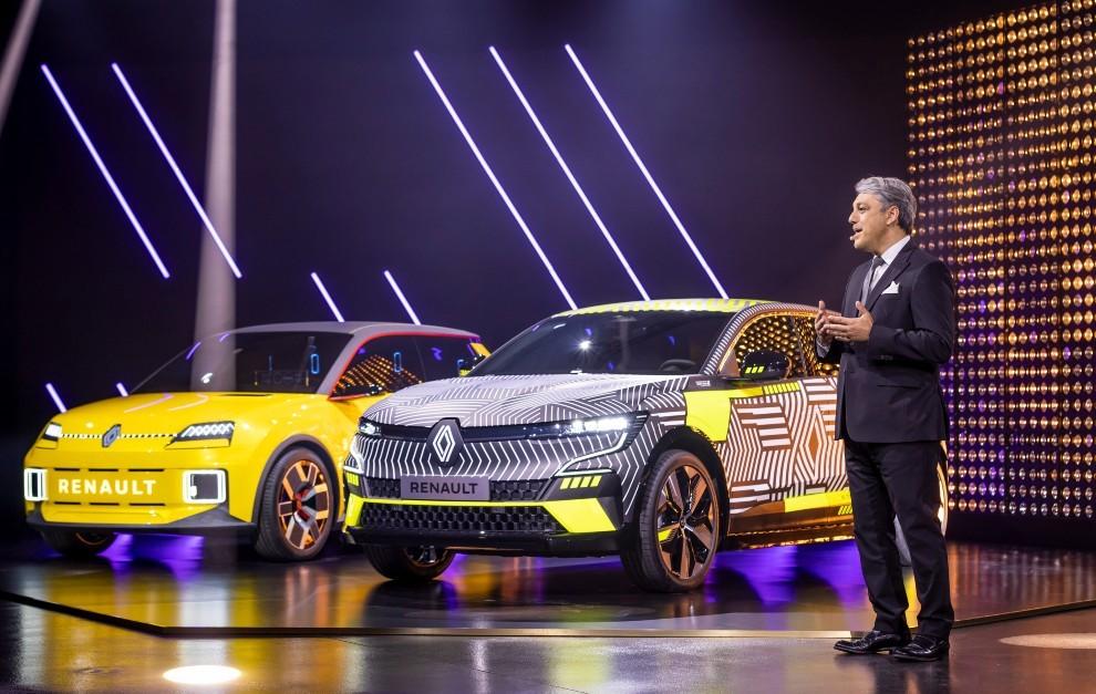 Renault Megane E-Tech electrico - Renault Megane electrico - Renault 5 - Renault 5 electrico - Salon de Munich