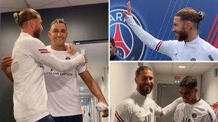 Primer día de Ramos vestido de corto en París... con Keylor haciendo de 'padrino'