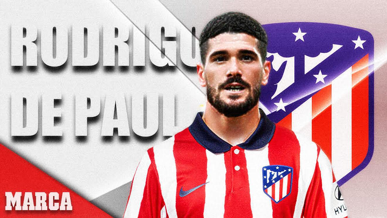 Rodrigo de Paul (27), nuevo jugador del Atlético de Madrid.