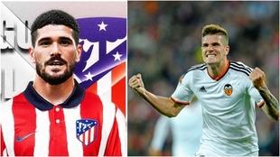 Rodrigo de Paul, nuevo fichaje del Atlético, cuando militaba en el...