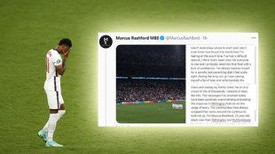 """""""Soy Marcus Rashford, un hombre negro de 23 años de Withington y Wythenshawe, South Manchester..."""""""