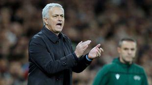 Jose Mourinho as Tottenham manager