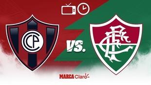 Cerro Porteño vs Fluminense, en vivo: Horario y dónde ver