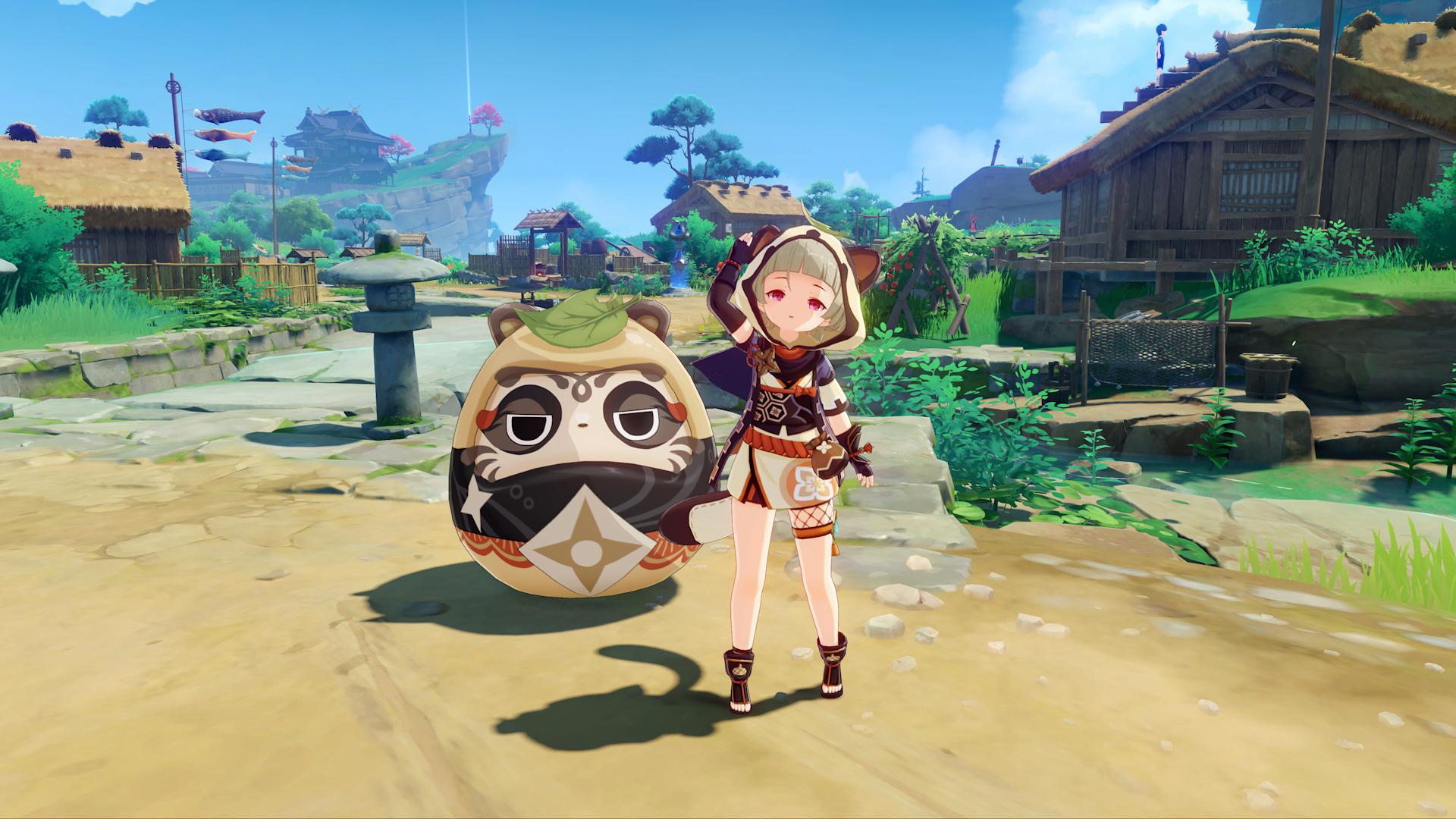 Sayu, nuevo personaje de la actualización 2.0 de Genshin Impact