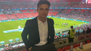 Norris, en Wembley.