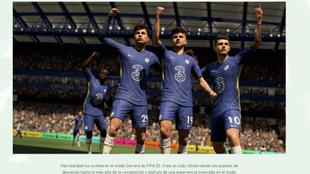 Las novedades de Modo Carrera de FIFA 22