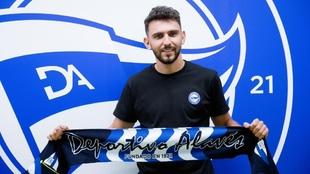 Iván Martín, nuevo jugador de la UD Alavés.