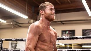 El boxeador mexicano ha regresado de lleno a trabajar.